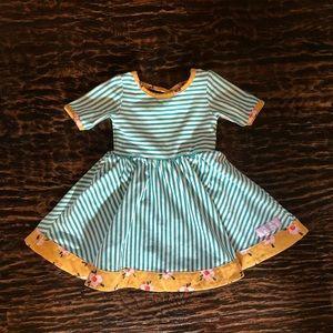 Sweet Honey Stripped Dress